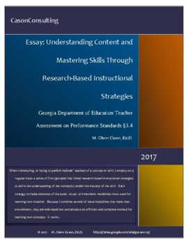Understanding Content and Mastering Skills Through Researc