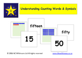 Understanding Counting Words and Symbols