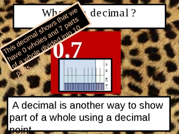 Understanding Decimal with Tenths
