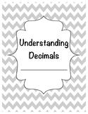 Understanding Decimals Student Notes / Study Guide