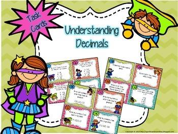 Understanding Decimals: Superhero theme!