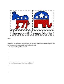 Understanding Democrats and Republicans: Research Activity!