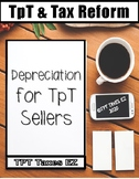Understanding Depreciation for TpT Sellers including a Spreadsheet