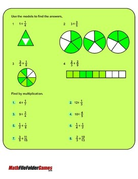 Understanding Division of Fractions {Math Game}