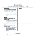 Understanding Division the Meaning of Division- Formative assessment