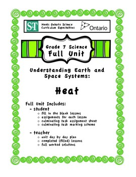 Understanding Earth and Space Systems - Heat - Fill in the