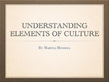 Understanding Elements of Culture