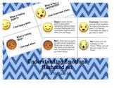 Understanding Emotions: Emoji Flashcard set