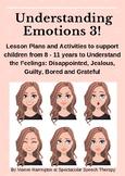 Understanding Emotions 3: Managing more Complex Feelings
