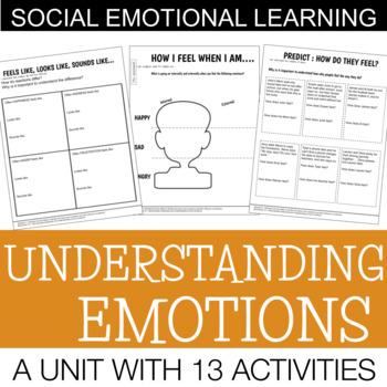 Understanding Emotions | Social Emotional Skills Unit | Middle / High School