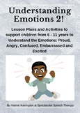 Understanding Emotions Pack 2: 5 More Emotions