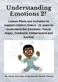 Understanding Emotions Pack 2: 5 More Emotions