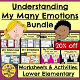 Understanding Emotions and Feelings Bundle with Worksheets