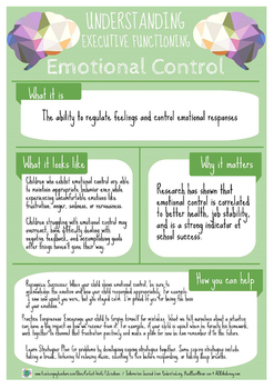 Understanding Executive Functioning: Emotional Control