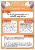 Understanding Executive Functioning: Organization