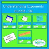 Algebra 1 - Understanding Exponents Bundle - SN