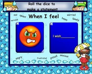 Understanding Feelings:  Developing Emotional Intelligence SMARTboard version