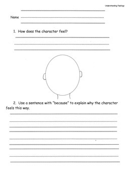 Understanding Feelings: Critical Thinking, Connections and Comprehension
