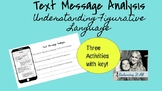 Understanding Figurative Language with Text Message Analysis