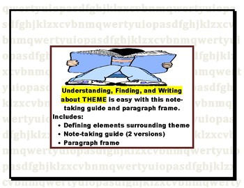 Identifying Theme: Understanding and Writing about Theme