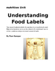 Understanding Food Labels Worksheet
