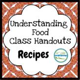 Understanding Food - Recipes