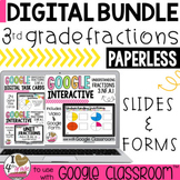 Understanding Fractions BUNDLE for Google Classroom