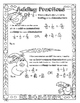 Understanding Fractions & Decimals Color Sheets