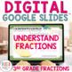 Understanding Fractions Digital Task Cards for Google Classroom