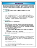 Understanding Fractions - Factoring Shortcuts Reference Sheet - Freebie!!
