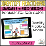 Understanding Fractions- Fraction Models Boom Cards