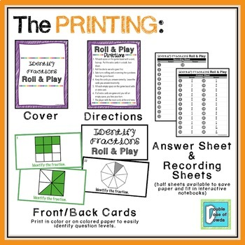 Fractions Centers & Games Bundle