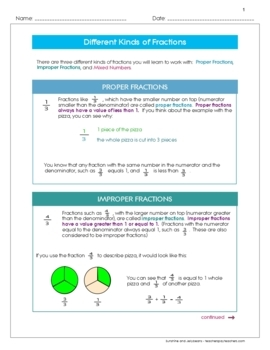 Understanding Fractions - Part 2 - Scaffolded Fractions Curriculum