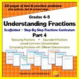 Understanding Fractions - Part 4: Reducing Fractions, Comm