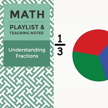Understanding Fractions - Playlist and Teaching Notes