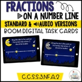 Understanding Fractions- Plot Fractions on a Number Line Boom Cards