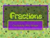 Understanding Fractions Primary Math Resource