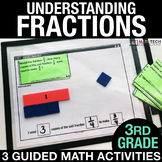 Understanding Fractions - Guided Math Activities and Exit