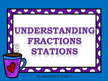 Understanding Fractions Stations