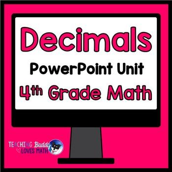 Decimals Math Unit 4th Grade Common Core