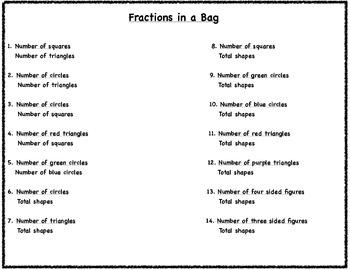 Understanding Fractions and Fraction Ratios
