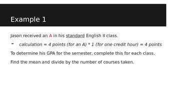 Understanding GPA