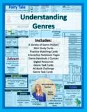 Understanding Genres & 40 Book Challenge (Editable)