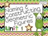 Understanding Geometric Figures! ~ Everyday Math Unit 1~ 4th Grade