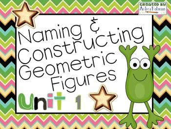 Understanding Geometric Figures! ~ Everyday Math Unit 1~ 4th Grade