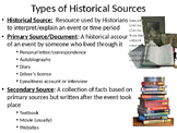LESSON BUNDLE -Understanding Global History & Geography: Terms, Tools & Concepts