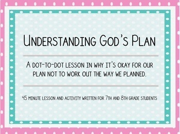 Understanding God's Plan - Junior High Bible Study