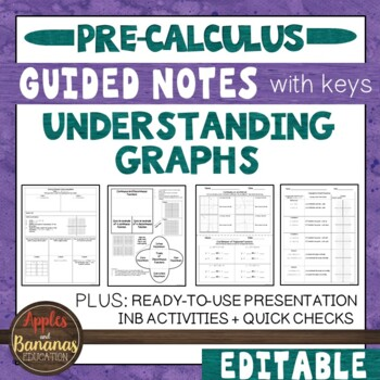 Understanding Graphs - Interactive Notebook Activities