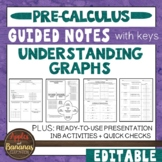 Understanding Graphs - Guided Notes and INB Activities
