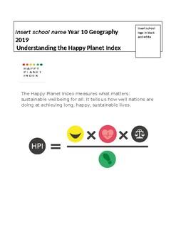 Understanding HPI: a unique measurement of human wellbeing